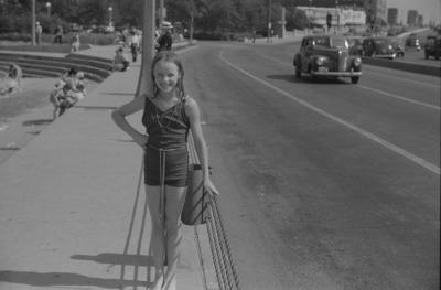Ohio Street Beach, 1941, Chicago. John Vachon  LoC.gov