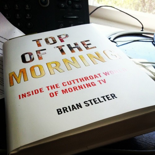 My first summer reading book. Congrats @brianstelter!