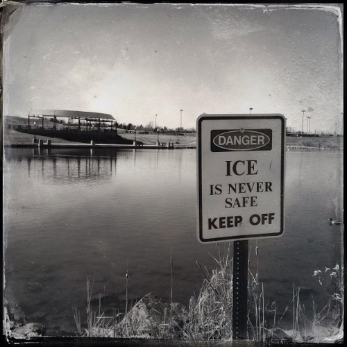 Keep Off The Meth. #notsafe #noirstagram  (at Westminster City Park)