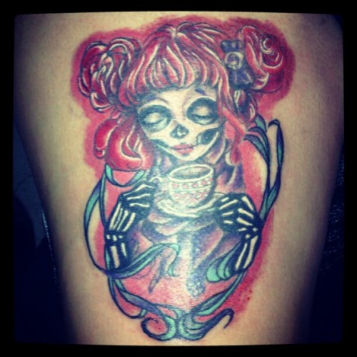gloisinwonderland:  I finally got it finished today thanks to Manny Lopez! :D #sabellerena  More Ellie awesomeness!