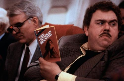 "horrorharem:  ""Planes, Trains and Automobiles"" 1987 Steve Martin, John Candy"