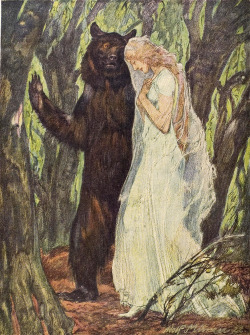 zombienormal:  The Faery Prince. Illustration by Adolf Münzer, based on Ben Johnson's masque of the same name. From Jugend magazine, 1925.