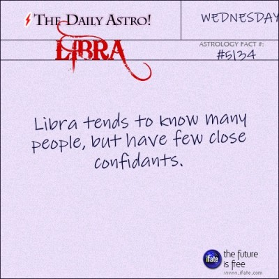 Libra 5134: Check out The Daily Astro for facts about Libra.and get a free online I Ching reading here