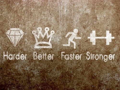 foreverrbeautyy:  Work Harder. Be Better. Become Faster. Get Stronger.