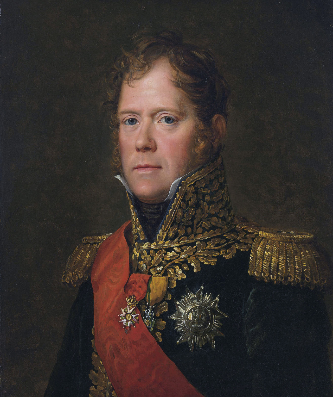 "thevictorianduchess:  Marshal Michel Ney, duc d'Elchingen, prince de la MoskovaFrançois GérardOil on canvasc. 1805Michel Ney (French pronunciation: ​[miʃɛl ˈnɛ]), 1st Duc d'Elchingen, 1st Prince de la Moskowa (10 January 1769 – 7 December 1815), popularly known as Marshal Ney, was a French soldier and military commander during the French Revolutionary Wars and the Napoleonic Wars. He was one of the original 18 Marshals of France created by Napoleon. He was known as Le Rougeaud (""red faced"" or ""ruddy"") by his men and nicknamed le Brave des Braves (""the bravest of the brave"") by Napoleon.  - wikipedia"