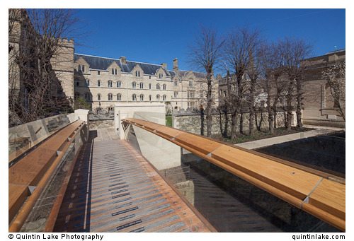 Photos: Pembroke College, Oxford. New Bridge & Buildings by Berman Guedes StrettonView Post