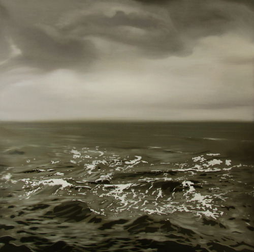 Nicholas Chistiakov Among the waves oil on canvas