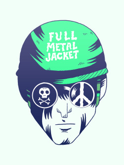 Full Metal Jacket by Derek Eads Style inspired by Dan Hipp