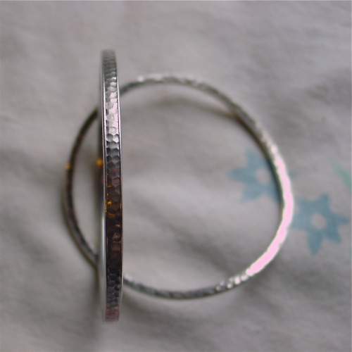 Hammered Sterling Silver Bangle BraceletsTwo more fab things from my good friend Becky. Her grandmother was, by all accounts, a great…View Post
