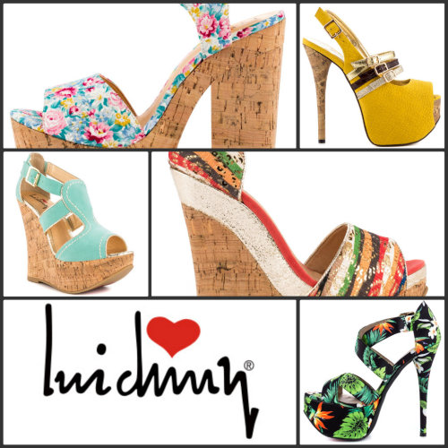 Brand Spotlight: Luichiny  At Heels.com, Luichiny reminds us of the wonderful feeling that you get when find money in your pocket. When we first laid our eyes on this brand we were happy yet amazed we didn't know about it before. This sexy women's shoe brand has beautiful details and striking designs. Luichiny shoes are for the women that start trends, not follow them.