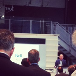 @dtapscott that was a very inspiring talk (at TSX Toronto Stock Exchange)
