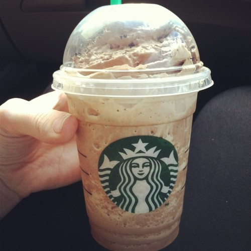 Mocha cookie crumble frap #starbuks #mocha #cookie #crumble #frap #delish #heaven