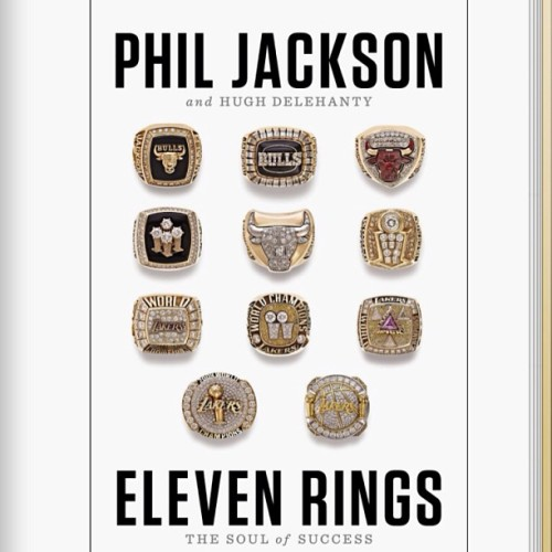 Just downloaded the book. Lets see how it is. #ElevenRings #PhilJackson #JordanOverKobe