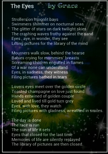 by Idryad (Grace) on DeepUndergroundPoetry.com Click the poem, to be linked to her profile, and see more of her work or visit deepundergroundpoetry.com/poets/grace
