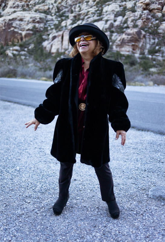 Maria. Christmas Eve. Red Rock, NV © Roger Kisby