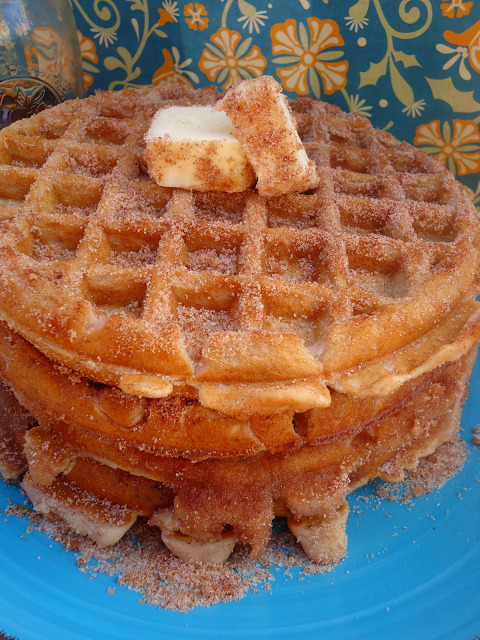 tumblrnest:  churro waffles? holy mother
