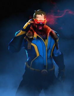 fireboxstudio: pixalry:  Overwatch x Marvel - Created by Boss