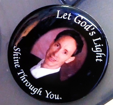 Warren Jeffs sticker to remind you to pray for him in prison