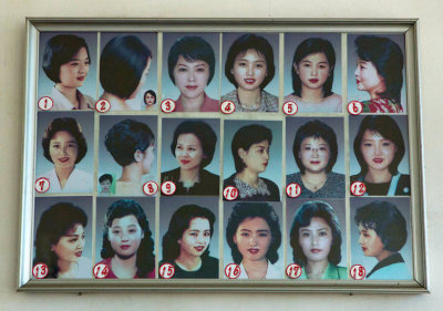 North Korean officially sanctioned hairstyles