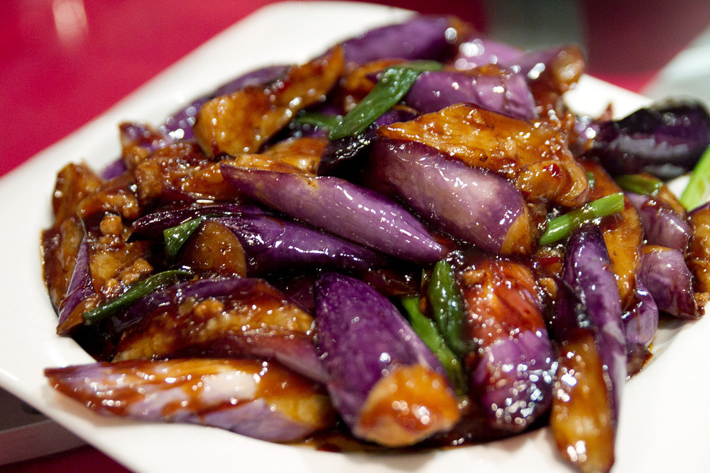 The other f word eggplant in garlic sauce photo by roboppy for Aubergine cuisine
