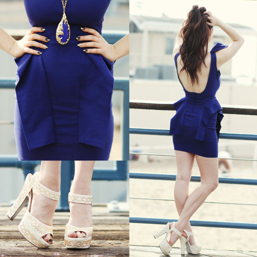 lookbookdotnu:  BLUE (by KayKay Blaisdell)