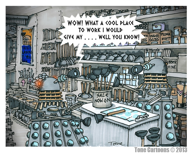 dailydalek:  (via Day 318: PLUNGERS Я US)