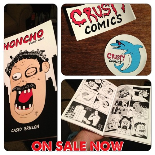 Don't forget, you can pick up a copy of my new #comic #Honcho part one at www.crustycomics.com #comics #indiecomics #minicomic