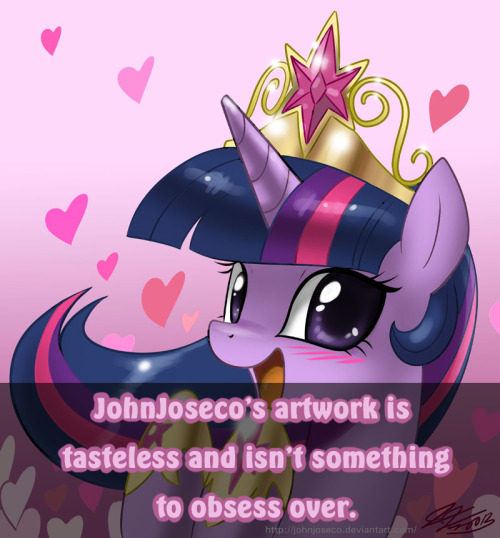 mlpartconfessions:  He has no original ideas, and his art is half-assed. The lines, the shading, and everything. he just smacks color onto a poorly lines drawing, airbrushes it a bit and adds a few brush strokes. What's so amazing about him anyways? - Submitted by bismuthbones  Sounds more like a hate post, then a confession to me. But, I could be wrong.