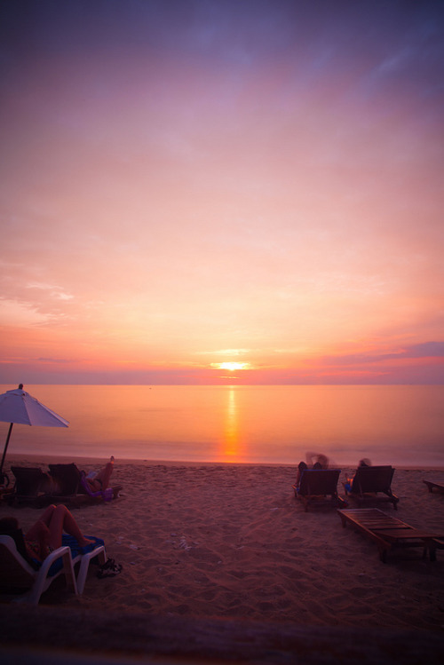 Sunset Koh Lanta by gstening