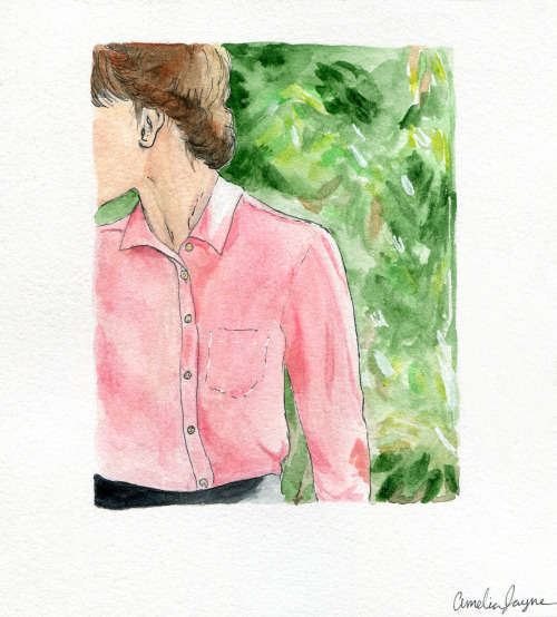 Watercolor inspired by Tradlands Lookbook!