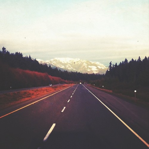 exploreislands:  The inland highway is boring, but I always like this one stretch.