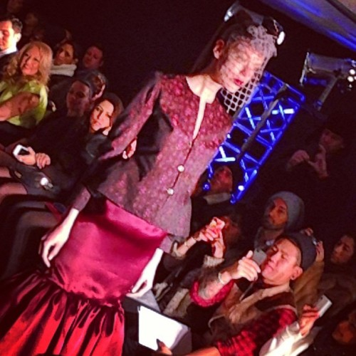 #firstlook #victordesouza #fw13 #nyfw @thestrandnyc (at The Strand Hotel)