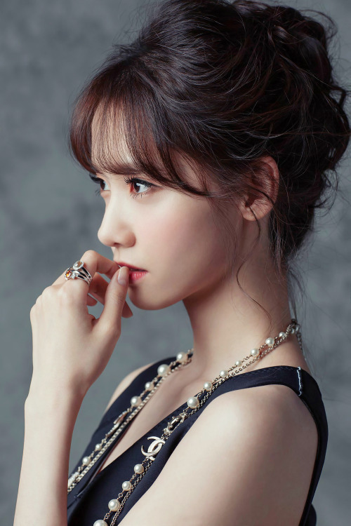 Magnificent Hair Fashion Face Style Model Makeup Asian Kpop Clothes Snsd Yoona Short Hairstyles Gunalazisus