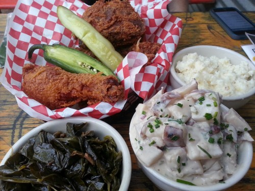 Lucy's Fried Chicken. -Austin, TX