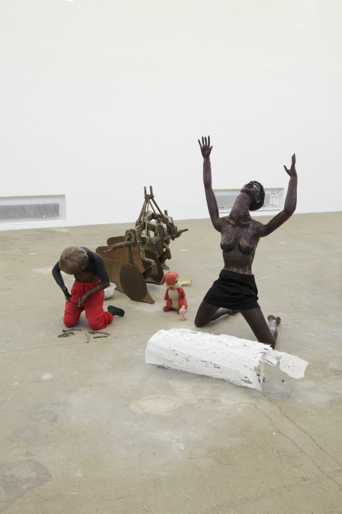 contemporaryartdaily:  Cathy Wilkes at Kunstverein