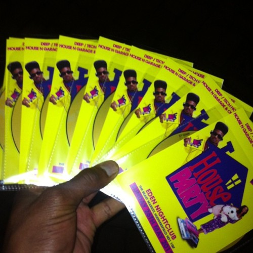 Free House Party Promo CDs !! Holla if you want one