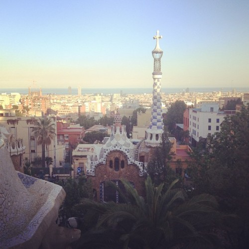 Missing it so muuuuuuch !!  (at Parc Güell)