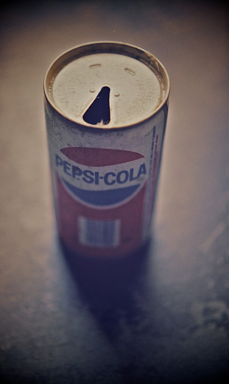 "The original Pepsi ""Throwback"". Shot with my Pentax K1000, using Fuji Pro 400H."