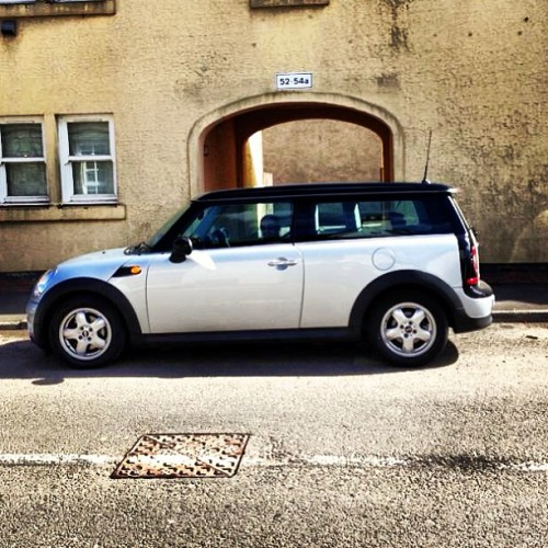 Clubman. #mini #minicooper  #clubman #standardfornow #stanceneedssorting #newtoy #scotland #iphone #awesome
