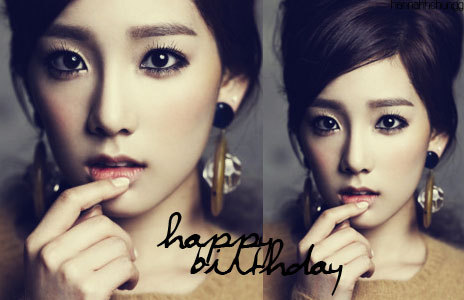 Happy Birthday Kim Taeyeon!