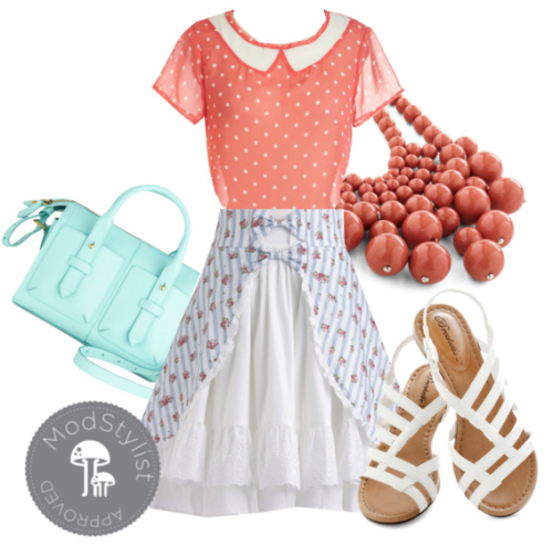 What's sweeter than the Primrose Picnic Dress for spring? Match pretty florals to polka dots for an easy print-mixing look! Shop our Spring Trends for more inspiring pieces! <3 Amy, ModStylist Need styling suggestions, trend tips, or dress details? Ask a ModStylist and your question might be featured on our feed!