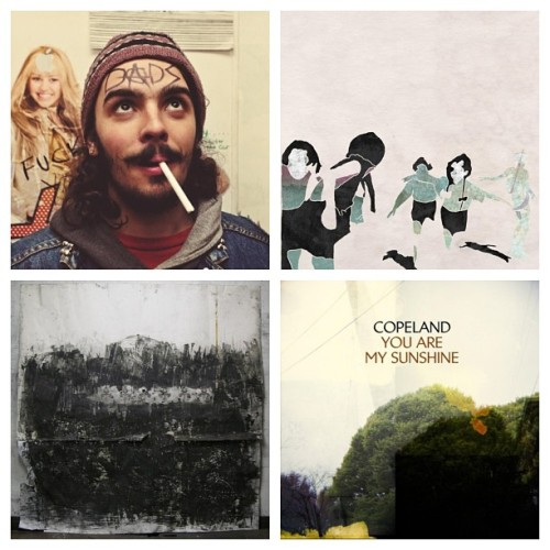 I've been listening to these four albums nonstop. They are literally perfect. #dads #boyfrndz #fromindianlakes #copeland