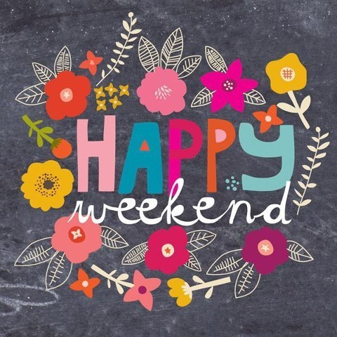Wishing everyone a great weekend!