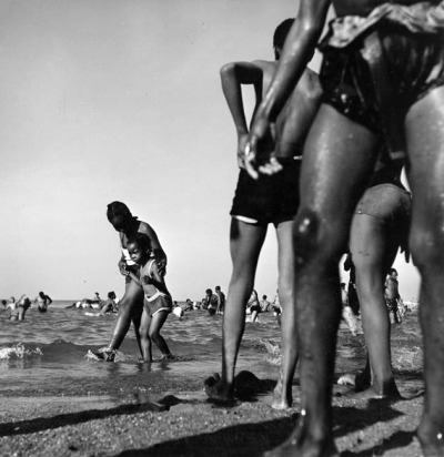 South Side Beach, 1947, Chicago. Wayne Miller