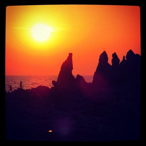 Arambol Beach Sunset - Goa, India (at Arambol Beach)