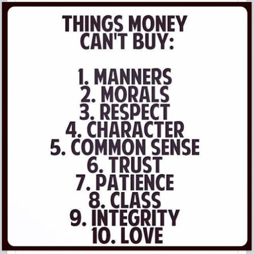 Things money can't buy… #truth #priceless