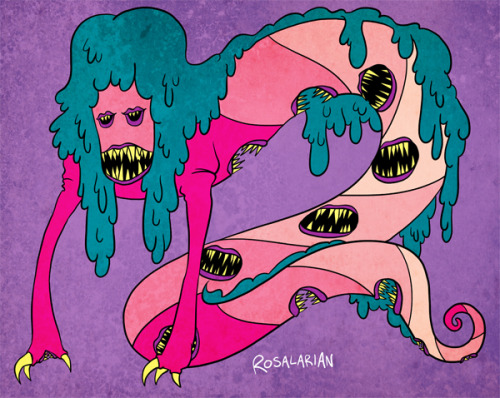 A monster I drew for a thing.