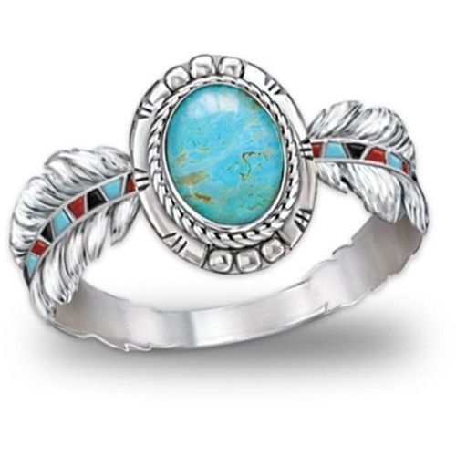 polyvore fashion jewelry rings turquoise jewellery turquoise jewelry turquoise ring
