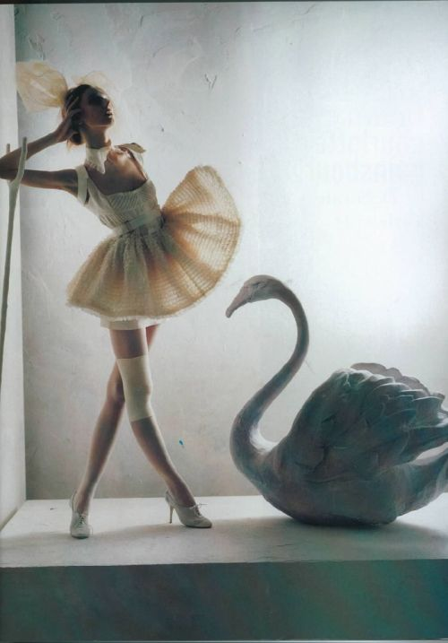 by Tim Walker for Vogue Italia, Jan 2008