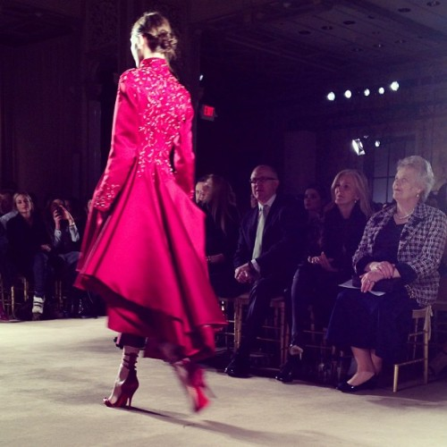 A little @marchesafashion romance to begin the day… will you be mine? #nyfw